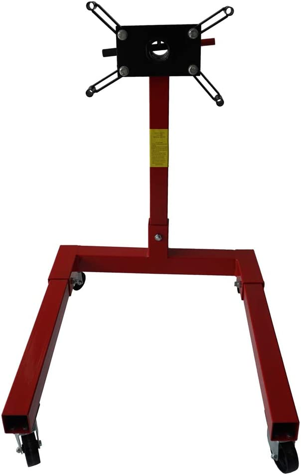 BLPextrm Red 80041 Engine Stand 360 Head 1250LBS Chicago Bombing free shipping Mall Degree Capacity