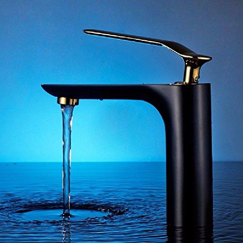 Lvsede badkamer waterkraan design keukenkraan lage druk eenhands-eenhands-warm- en koudwaterkraan badlak bekken waterkraan C