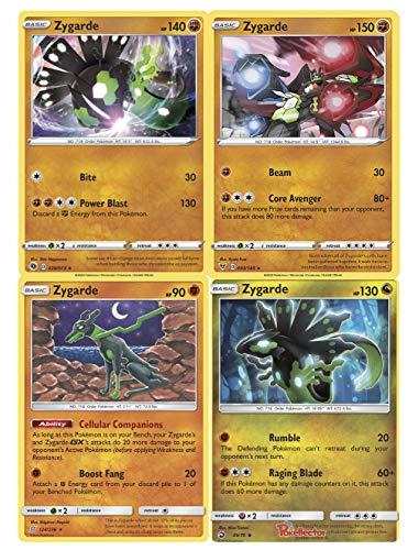 Pokemon Legendary Zygarde Card Lot - All Forms - Champion