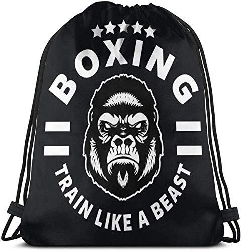 Shui Boxen Kordelzug Rucksack Rucksack Umhängetaschen Sporttasche