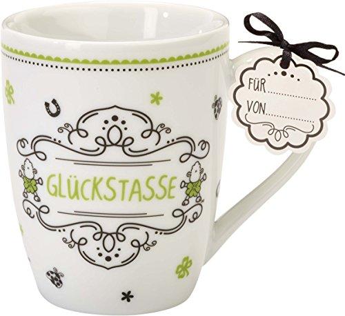 Sheepworld 59263 Lieblingstasse Glückstasse, Tee-Tasse, mit Geschenk-Anhänger