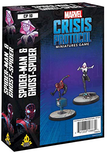 Atomic Mass Games - Marvel Crisis Protokoll: Character Pack: Marvel Crisis Protokoll: Ghost-Spider & Spider-Man - Miniaturspiel