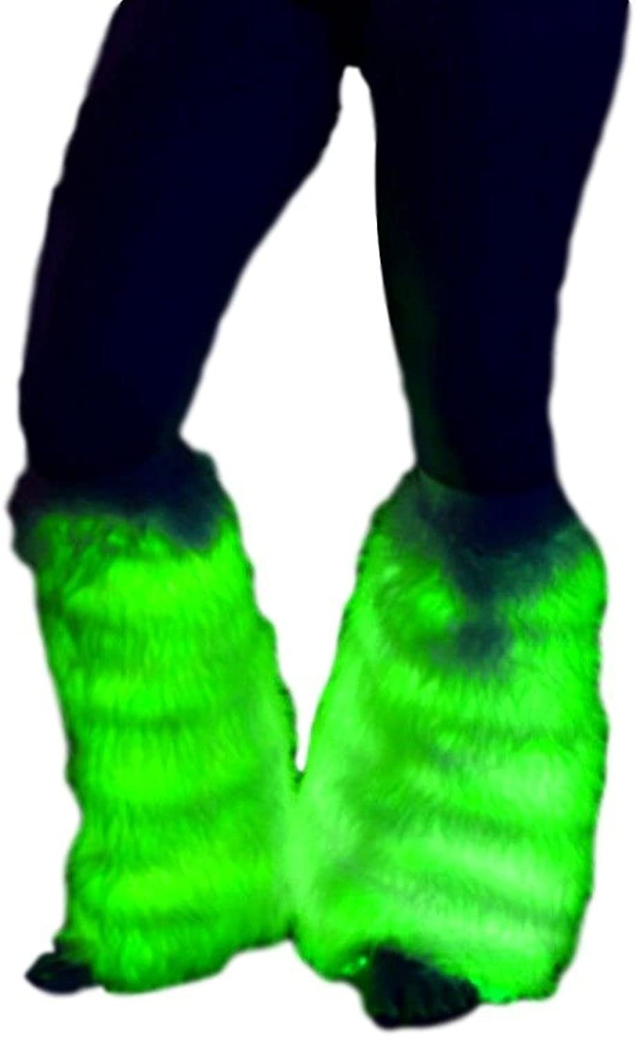 TrYptiX Light up LED Fluffies Leg Warmers