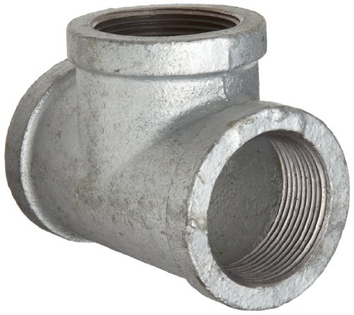 Anvil 8700121182, Malleable Iron Pipe Fitting, Tee, 4