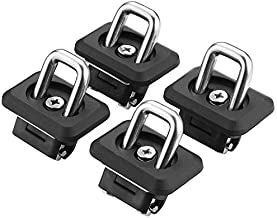Bull Ring Tie Downs (1001 Truck Bed Side Wall Anchors 2-Pair)
