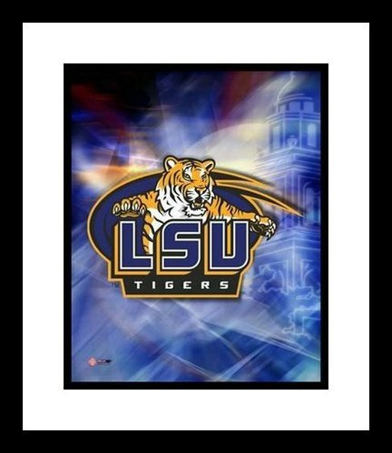 Lousiana State University Tigers All Time Greats NCAA Framed 8x10 Photograph National Champs Collage