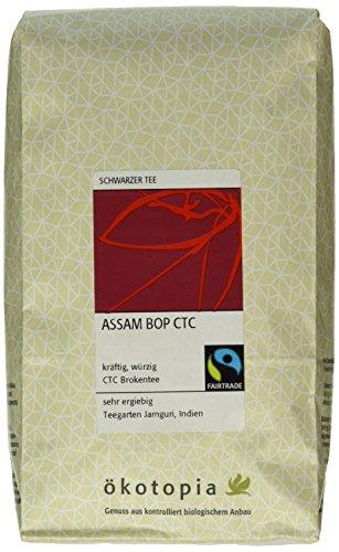 Ökotopia Schwarzer Tee Assam Bop CTC, 1er Pack (1 x 500 g)