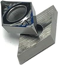 LF-wujin, 10pcs DCGT070204 AK H01 DCGT 070204 Aluminio Cuchilla Inserto de Corte de la Herramienta Herramienta de Torno CNC Herramientas AL + Aleación de Madera