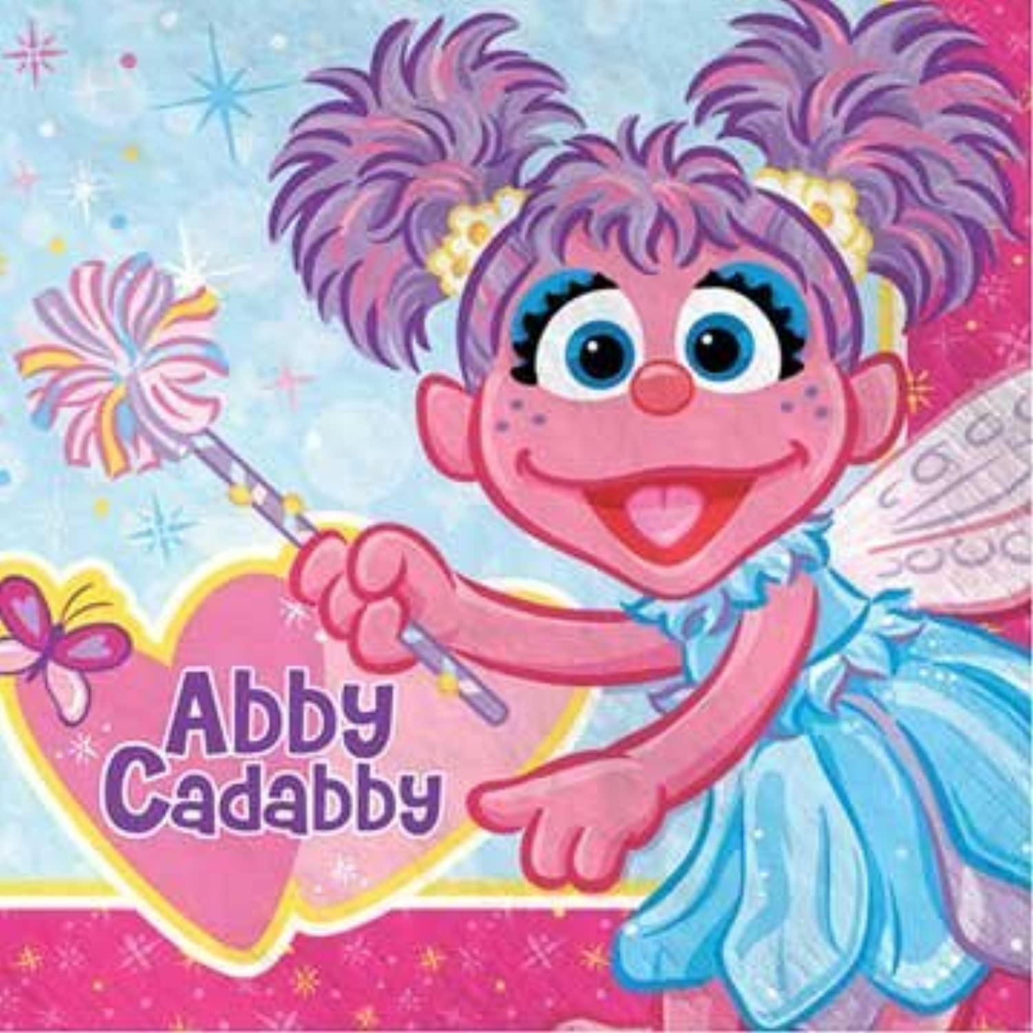 Abby Cadabby Lunch Napkins, 16ct by American Greetings