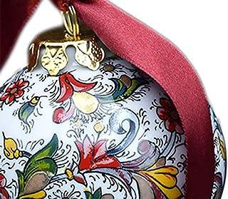 Verde Mela Bluesteer 34pcs Decorazioni per LAlbero di Natale Palline Pallina Festa di Natale Ornamenti Palla appesi Decorazioni Natalizie per la casa Regalo di Capodanno 4 cm
