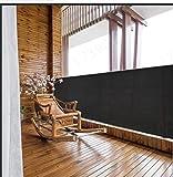 Mitef Balkon Sichtschutz Netz Zaun Windschutz Mesh Schatten Abdeckung für Baustelle Terrasse Hof Auffahrt Garten Pavillon