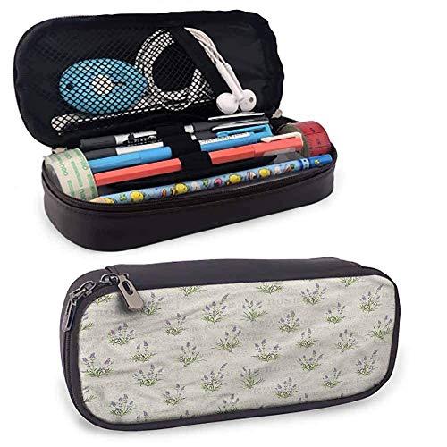 Lavendel Bleistiftbeutel, Bündel Kräuterblüten Halter Box Organizer Geschenke Mit Reißverschluss