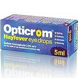HayMax Opticrom Hay Fever Eye Drops 5ml