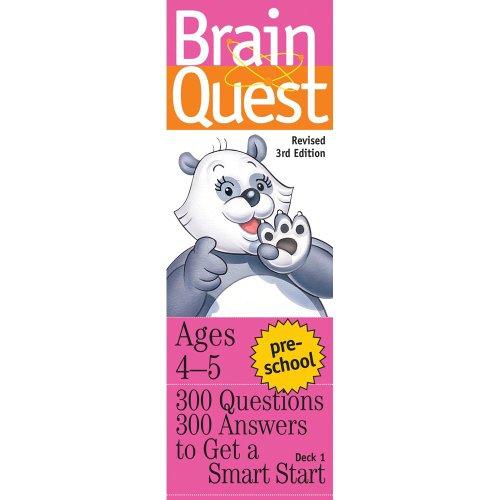 University Games Preschool Brain Quest Card Deck 01728