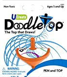 U-Create Doodletop Twister Kit with 1 Pen & 1 Top, Drawing Game, Marker Pen, Creative Art Spiral Spinning Top for Kids Age 5 & Above