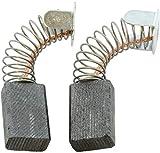 Escobillas de Carbón para MAKITA JS3200 cizallas - 6x10x15mm - 2.4x3.9x5.9''