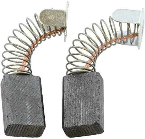 Escobillas de Carbón para MAKITA 9218SB lijadora - 6x10x15mm - 2.4x3.9x5.9''