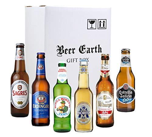 世界のノンアルコールビール6本 飲み比べギフトセット 【ビットブルガードライブ、サグレスゼロ、エルディ...
