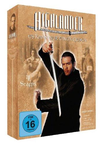 Highlander: Staffel 4 (Box Set) [Import allemand]