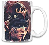 Hellblades Senuas Opfer Wildes Gesicht - Hellblade Senua's Sacrifice Wild Face Unique Coffee Mug   11Oz  High Quality Ceramic Cup  The Best Way To Surprise Everyone On Your Special Day  Custom Mugs By