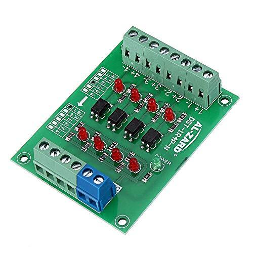 BINGFANG-W Driver del Motore Isolamento 3pcs 12V a 1.8V 4 canali accoppiatore Ottico Bordo Isolato Modulo di Uscita PNP PLC Livello Segnale Modulo convertitore di Tensione Stampante 3D
