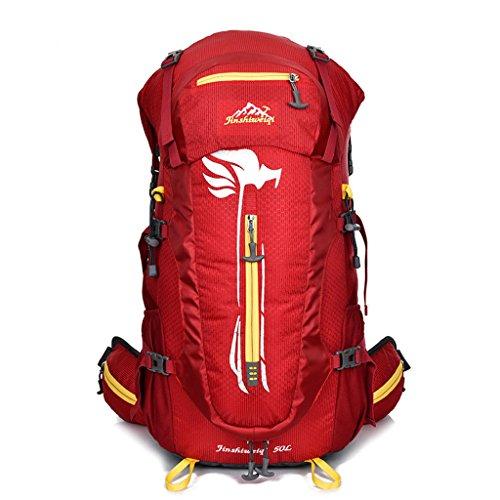 Grande capacité à Dos Sport imperméables Hommes et Les Femmes à Cheval en Plein air Sac à Dos Alpinisme Sac à Dos de randonnée