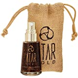 Atar Gold Natural Perfume Fragrance Skin Serum | Perfume made of Natural Ingredients, Cruelty Free, Vegan, Made with 24K Pure Gold