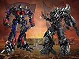 Transformers Backdrop Birthday Party Decoration Banner Photo Background for Kids Photo Backgrounds Prop