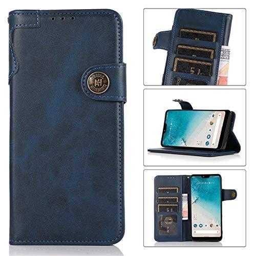 Caso feliz-l Compatible WTIH iPhone 12 Mini, Funda de billetera de cuero [Slot de titular de la tarjeta MULTI] [Muñeca de mano] Cierre magnético Protección completa TPU TPU Funda para teléfono para iP