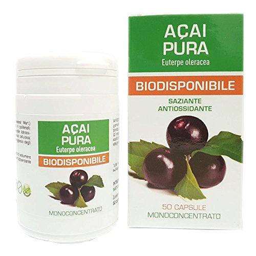 Naturpharma 500Mg Acai Pura Biodisponibile, 50 Capsule
