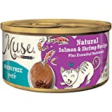Muse by Purina Natural, Grain Free Pate Wet Cat Food, Salmon & Shrimp...