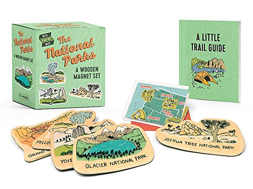 The National Parks: A Wooden Magnet Set (RP Minis)