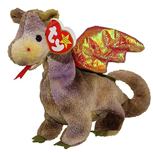 Scorch the Dragon the Beanie Baby (Retired)