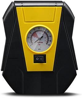 PerGrate Elektrischer Auto Reifen Inflator Pumpe 12V tragbarer Luftkompressor aufblasbar für Notfall im Freien