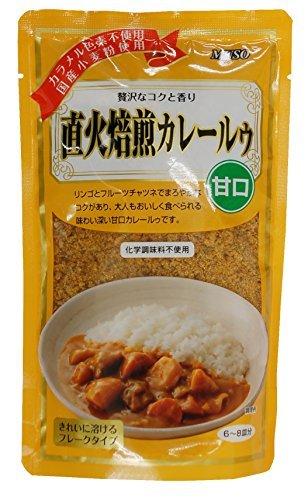 ムソー 直下火焙煎カレールゥ(甘口) 170g ×10セット