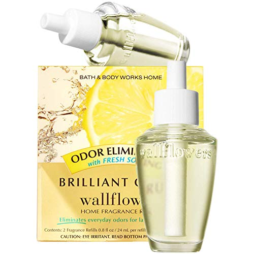 Bath & Body Works Brilliant Citrus Odor Eliminating Wallflowers Home...