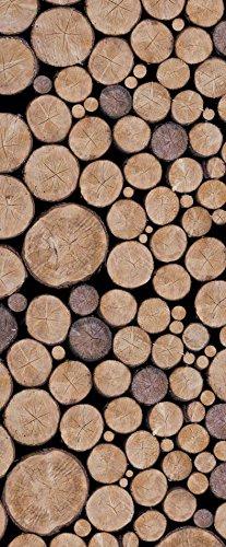 Deursticker beuken herfst 85x205 cm | Wanddecoratie HD kwaliteit Scenolia