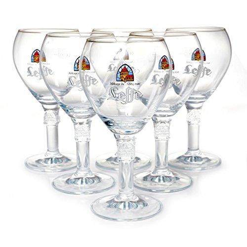 Leffe 6-er Set 25cl-Gläser Von