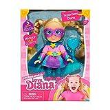 LOVE DIANA - Mini Muñeca de 15 cm, 5 personajes diferentes coleccionables, princesa, super...
