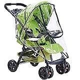 Kinderwagen Regenschutz - WENTS Universal Tragbare Gute Luftzirkulation, Schadstofffrei Regenschutz für Kinderwagen 55 x 80cm
