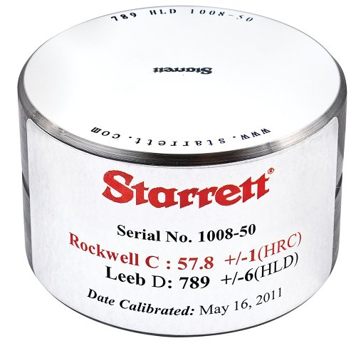 Starrett HT-1300-01 Leeb D Test Block for 3811A and 3810A Hardness Tester