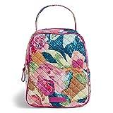 Vera Bradley Women's Signature Cotton Lunch Bunch Lunch Bag, Superbloom, One Size