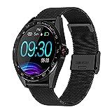 IP68 Reloj inteligente impermeable 1 3 pulgadas HD Pantalla redonda táctil completa Monitor de sueño Monitor deportivo Smartwatch Fitness Tracker (Color: C)