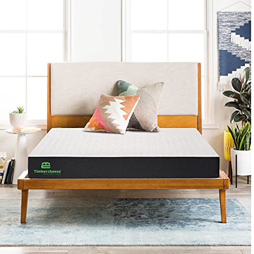 TIMBER CHEESE X Duo Comfy Reversible Premium Pressure Relieving Ortho Mattress (Hard and Soft) (2 Way USE) (7 Years Warranty, ROLL Pack)(Suits All Age Groups) (Single, 75X30X4)