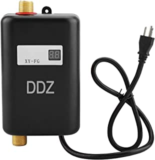 DDZ Tankless Water Heater, Electric Water Heater, 110V 3000W Mini Tankless Instant Hot Water System for Bathroom Kitchen