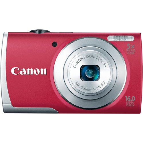 Find Discount Canon PowerShot A2600 16.0 MP Digital Camera with 5x Optical Zoom and 720p Full HD Vid...