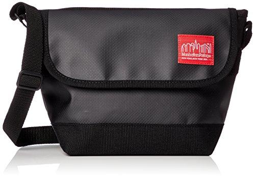 [マンハッタンポーテージ] 正規品【公式】Matte Vinyl Casual Messnger Bag メッセンジャーバッグ MP1603MVL Black