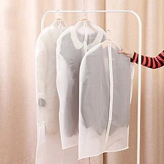 Pindia 60 x 100 CMS Transparent Set of 3 Garment Cover Dress Coat Bag Suit Bag Coat Cover