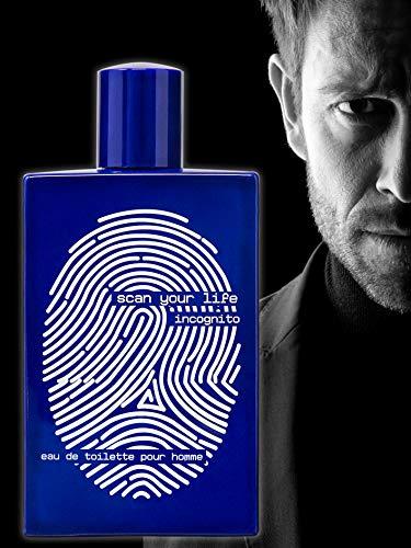 SCAN YOUR LIFE INCOGNITO Agua de tocador (EDT) para Hombres, 100 ml - NUEVA Fragancia para Él