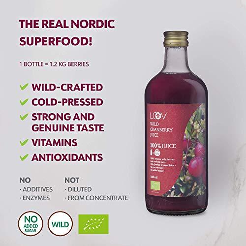 Bio Wild Cranberrysaft - 3